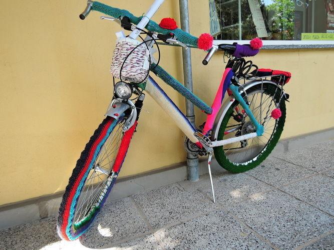Makerist - Fahrrad eingestrickt - Strickprojekte - 2