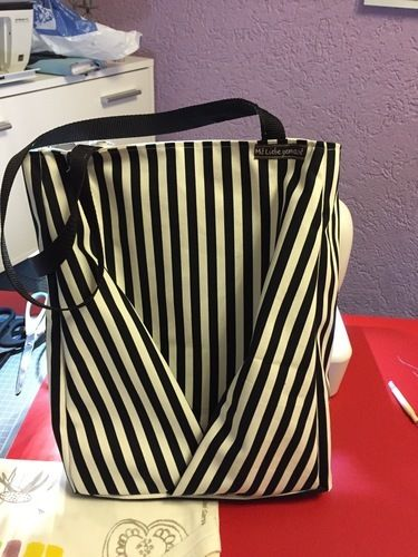 Makerist - Tasche mit Portmonnaie - Nähprojekte - 1