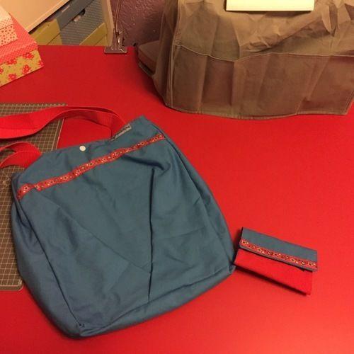 Makerist - Tasche mit Portmonnaie - Nähprojekte - 2