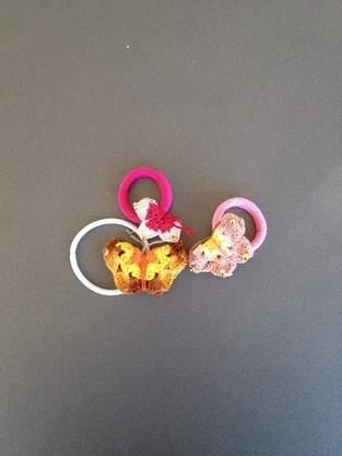 Makerist - Haargummi Schmetterling - 1