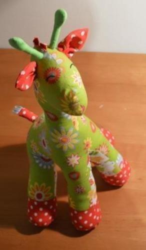 Makerist - Gerda, die Giraffe - Nähprojekte - 1