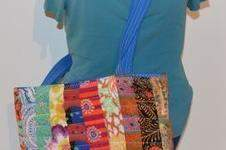 "Makerist - ""Summertime"" Patchwork Strandtasche - 1"