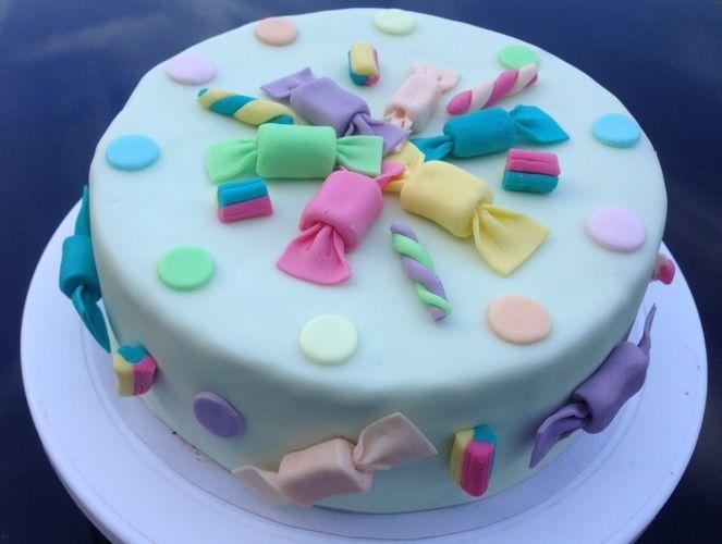 Makerist - Candy- / Frosch- & Ballonfesttorte - Torten, Cake Pops und Cupcakes - 1