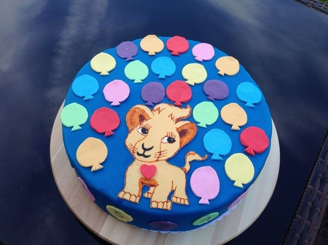 Makerist - Candy- / Frosch- & Ballonfesttorte - Torten, Cake Pops und Cupcakes - 3