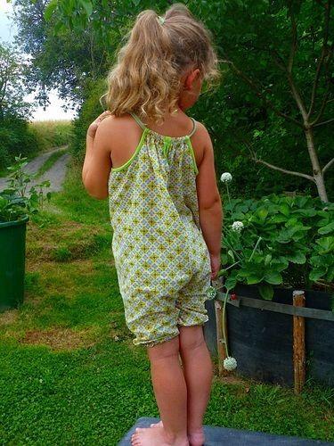 Makerist - Sommer-Overal Jumpsuit aus gemusterten Baumwollwebstoffen  - Nähprojekte - 1