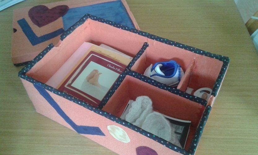 Makerist - Babys Erinnerungsboxe /n - DIY-Projekte - 1