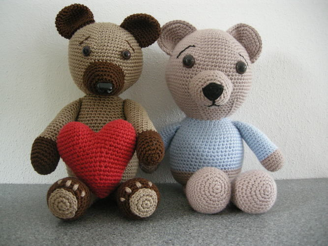 Makerist - Lil's classic Teddy - Häkelprojekte - 2