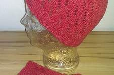 Makerist - Mütze und Pulswärmer Blätter & Raupen - 1
