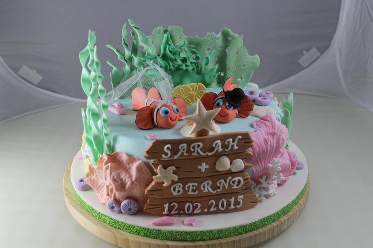 Makerist - Unterwasserwelthochzeit - Torten, Cake Pops und Cupcakes - 1