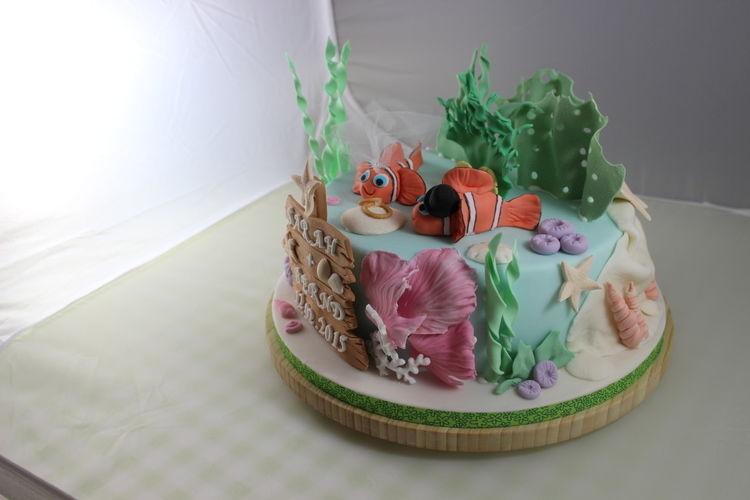 Makerist - Unterwasserwelthochzeit - Torten, Cake Pops und Cupcakes - 3