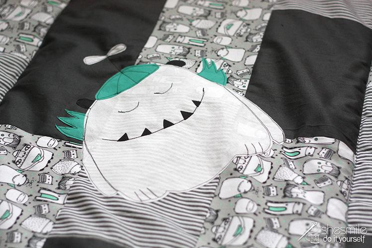 """Makerist - Krabbeldecke """"Stripes"""" - Nähprojekte - 3"""