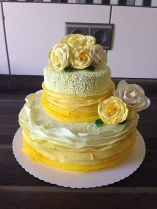 Kleine Torte zum 20. Geburtstag