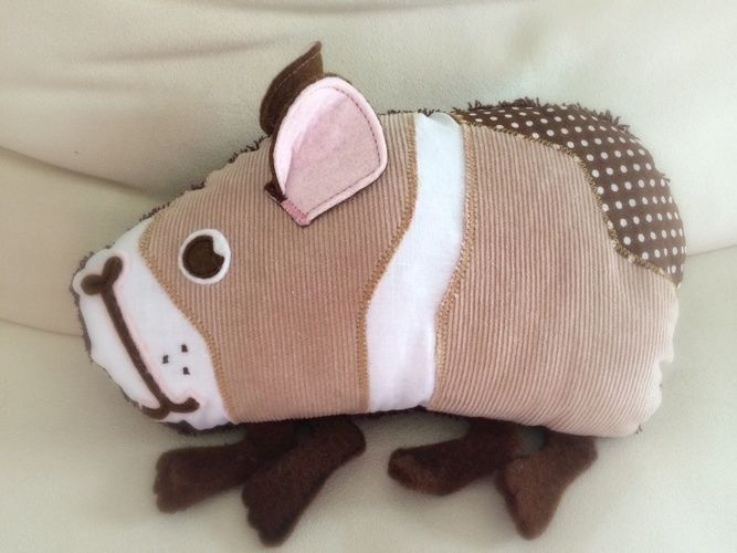 Makerist - Meerschweinchen Schmittchen - Nähprojekte - 1