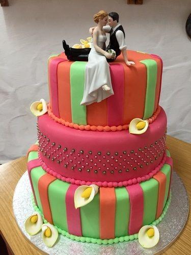 Makerist - Crazy Weddingcake - Torten, Cake Pops und Cupcakes - 1