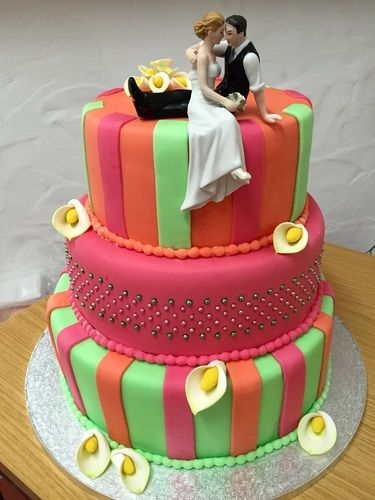 Makerist - Crazy Weddingcake - Torten, Cake Pops und Cupcakes - 3
