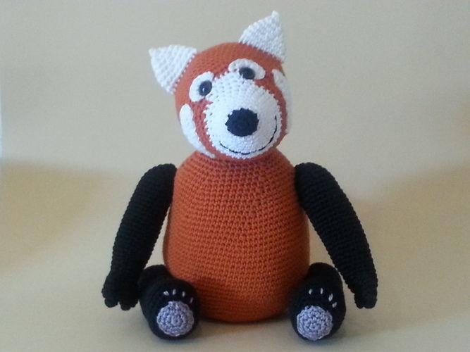 Makerist - Panda Pedro - Häkelprojekte - 1