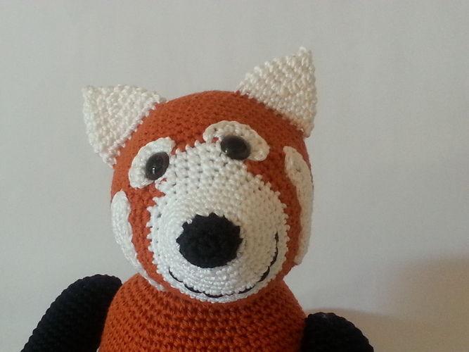 Makerist - Panda Pedro - Häkelprojekte - 2