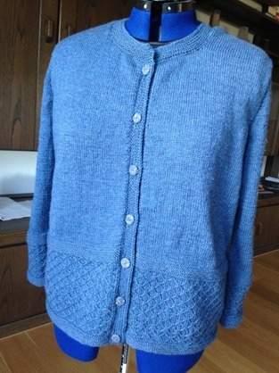 """Makerist - Strickjacke  nach """"Designe deinen eigenen Pullover"""" - 1"""