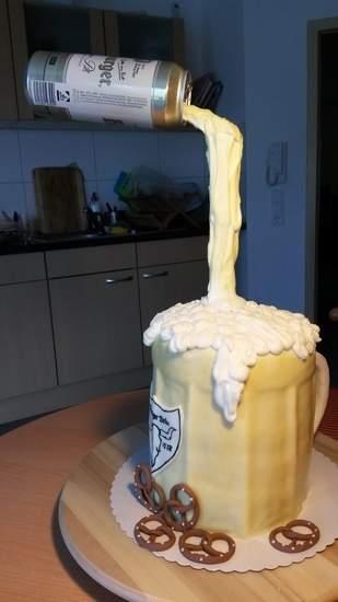 Makerist - Bierglas Torte  - 1