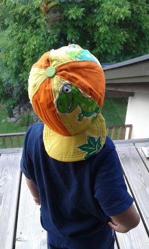 Makerist - Basballcappy happy für meinen sohn - Nähprojekte - 1