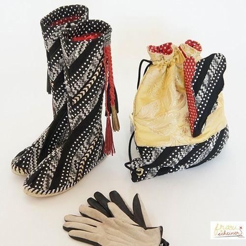 Makerist - Espadrille Stiefel - Nähprojekte - 1