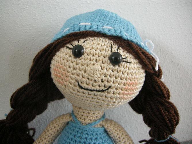 Makerist - kleine Lady - Häkelprojekte - 3