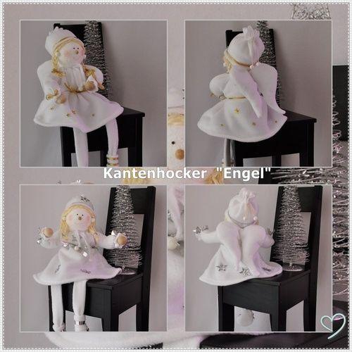 Makerist - Engel als Kantenhocker - DIY-Projekte - 1