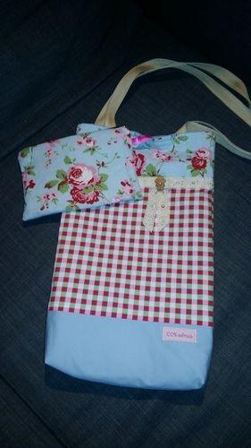 Makerist - Ein Beutel mit kleiner Innentasche. Ein Geschenk für meine Schwiegermutti. Sie hat sich dies gewünscht. - Nähprojekte - 1