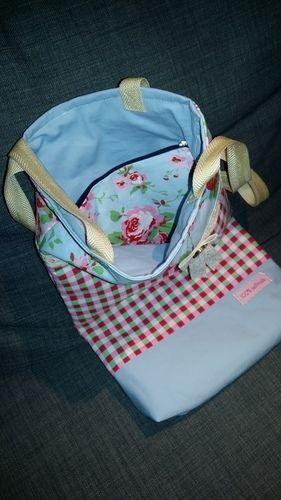 Makerist - Ein Beutel mit kleiner Innentasche. Ein Geschenk für meine Schwiegermutti. Sie hat sich dies gewünscht. - Nähprojekte - 2