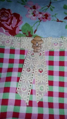 Makerist - Ein Beutel mit kleiner Innentasche. Ein Geschenk für meine Schwiegermutti. Sie hat sich dies gewünscht. - Nähprojekte - 3