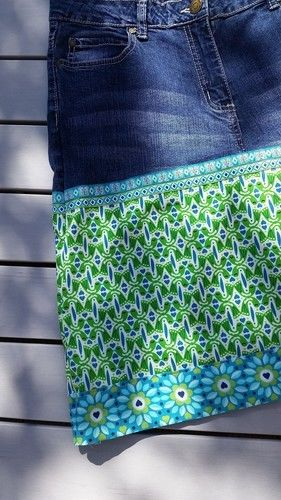 Makerist - Jeansrock für mich! :-) - Nähprojekte - 1