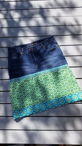 Makerist - Jeansrock für mich! :-) - Nähprojekte - 2