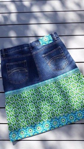 Makerist - Jeansrock für mich! :-) - Nähprojekte - 3