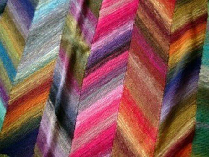 Makerist - Kniedecke aus Sockenwolle aus einer anderen Perspektive - Strickprojekte - 1