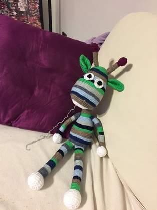 Makerist - Giraffe George für den kleinen Theo - 1