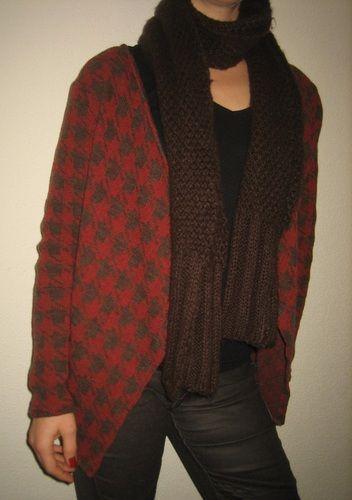 Makerist - warmer Cardigan mit Wollanteil - Nähprojekte - 1