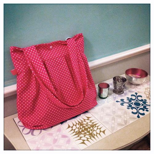Makerist - Ballontasche in pink - Nähprojekte - 2