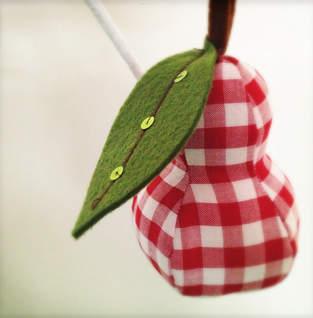 Nadelkissen Birne
