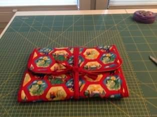 Makerist - Wickelunterlage als Tasche mit Fächern für Feuchttücher, Windeln und Cremes - 1