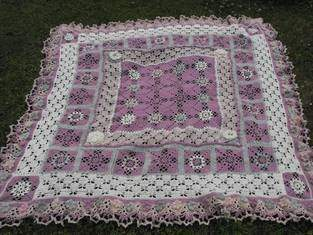 Makerist - Decke aus Schurwolle, Design nochmal geändert. - 1