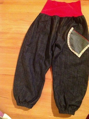 Makerist - kinderhose jeans - Nähprojekte - 1