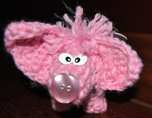 Makerist - Glückshäkelschutzengelschweinchen Angelo - Häkelprojekte - 1