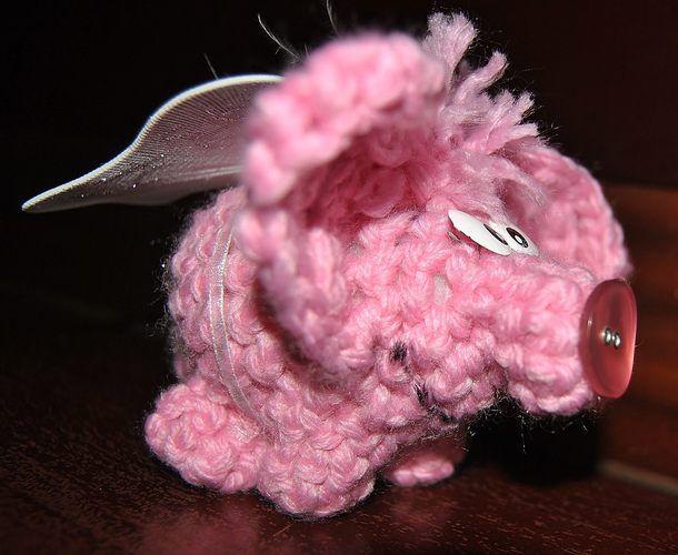 Makerist - Glückshäkelschutzengelschweinchen Angelo - Häkelprojekte - 2