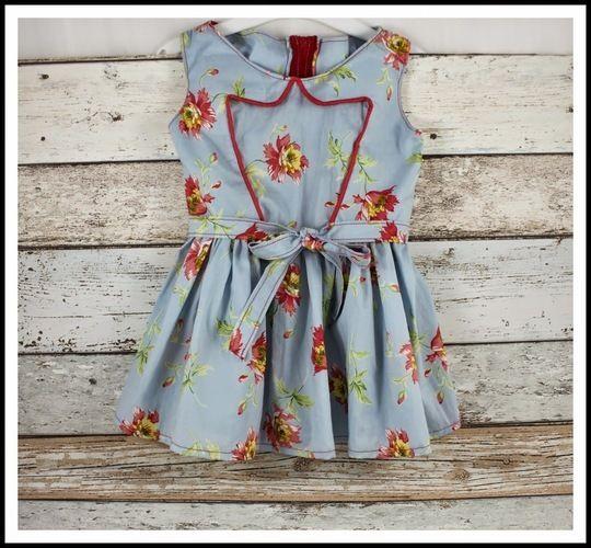 Makerist - C´est dimanche Roma Kid Dress - Nähprojekte - 1
