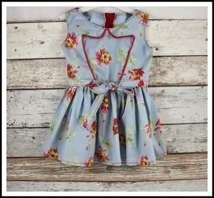C´est dimanche Roma Kid Dress