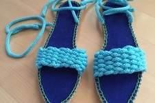 Makerist - Sandalen mit der Strickliesel - 1