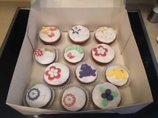 Fondant Muffins :-)