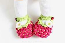 Makerist - Babyschuhe in Beerenform - 1