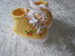 Makerist - Babyschühchen - 1