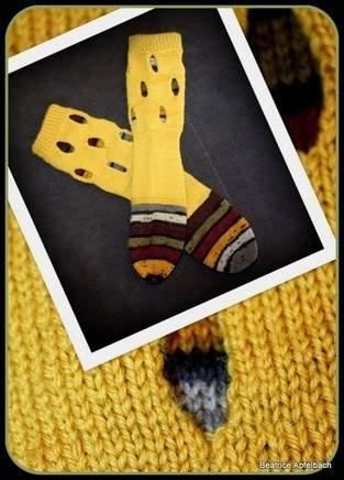 Makerist - Socken mit Durchblick - 1